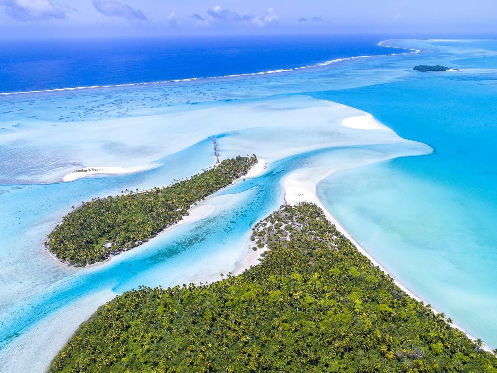 Aitutaki, Cook Islands ©Cook Islands Tourism, David Kirkland