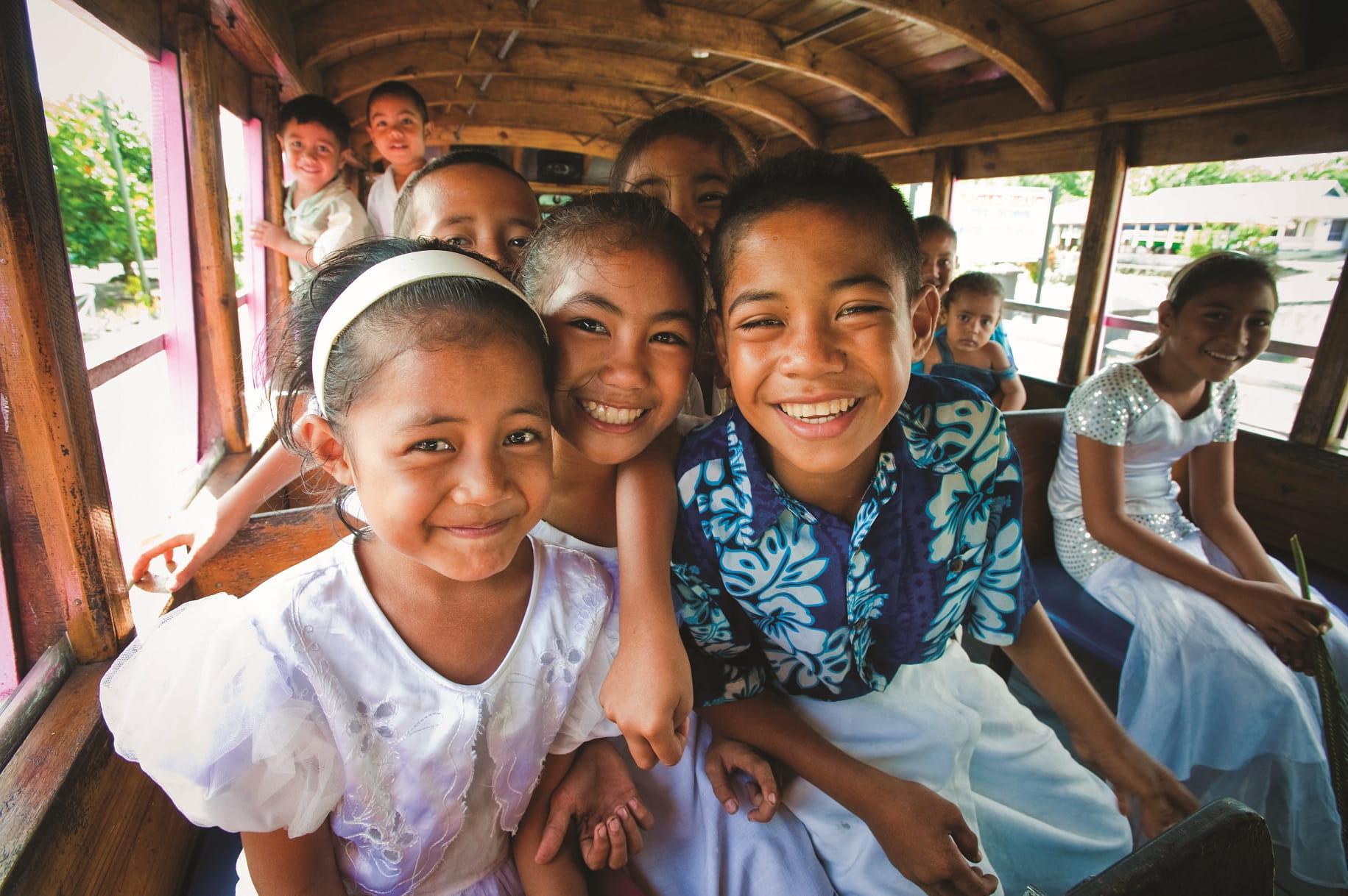 Samoan Kids © David Kirkland
