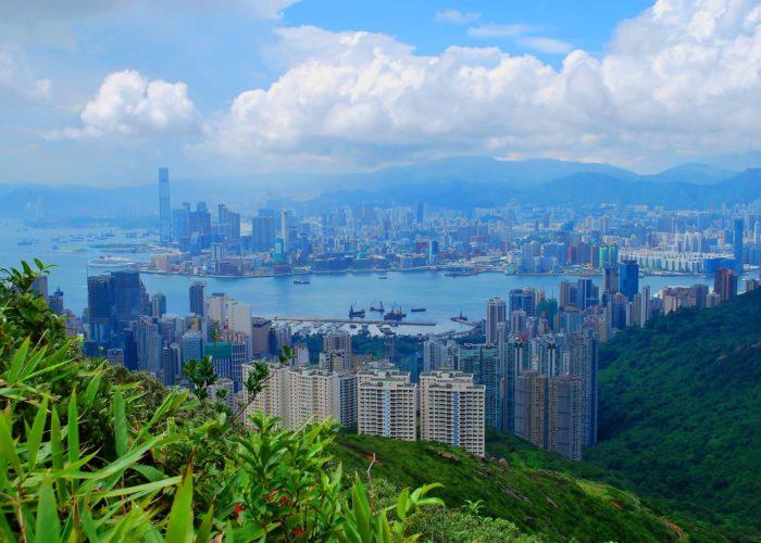 Ausblick, Victoria Peak, Hongkong