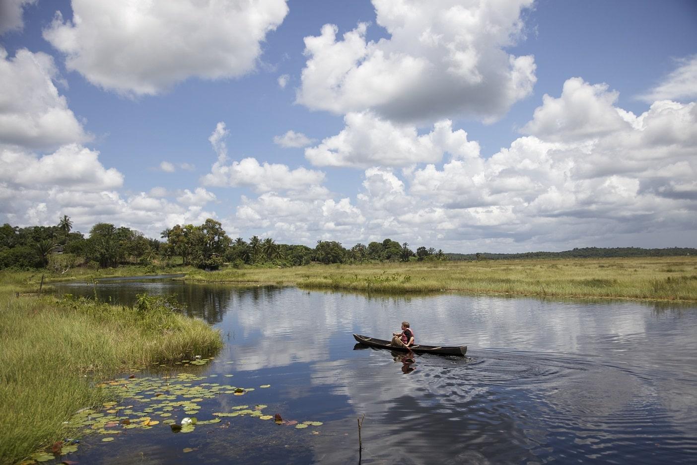 Bootsafari, Guyana