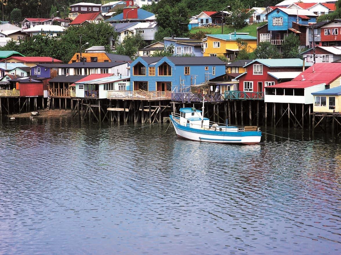 Chiloé, Palafitos de Castro, Chile