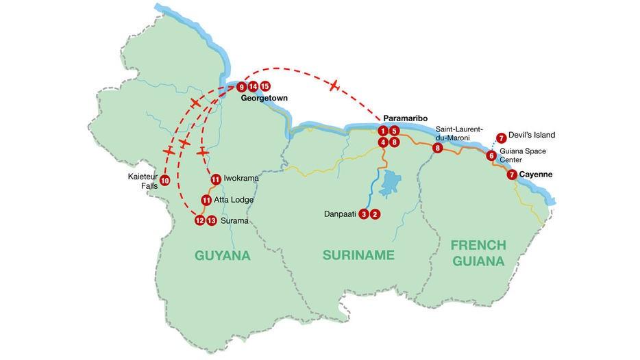 Discover the Hidden Guianas