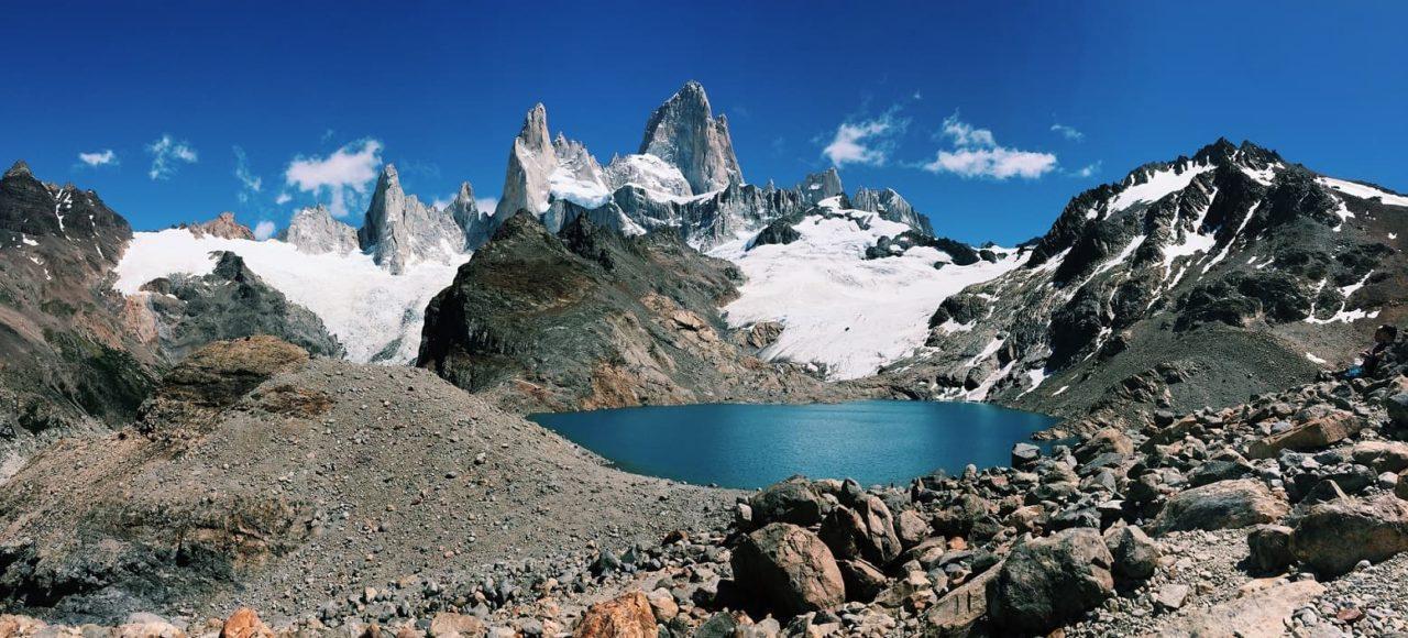 El Chalten, Laguna de los tres, Argentinien