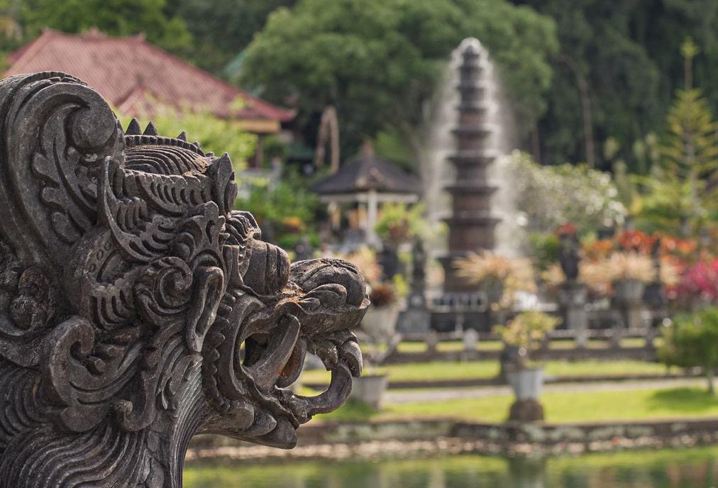 Wasserpalast, Tirta Gangga, Bali