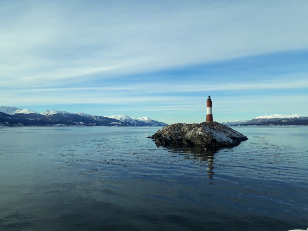 Ushuaia, Beagle Kanal, Argentinien