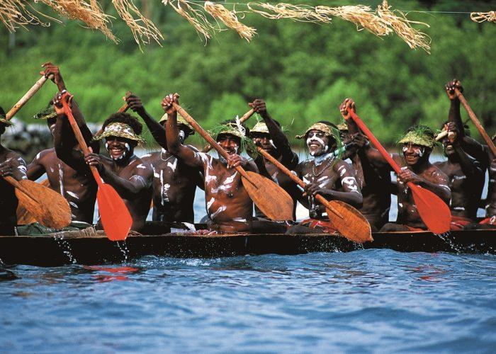 Canoe, Solomon Islands © Kirklandphotos.com