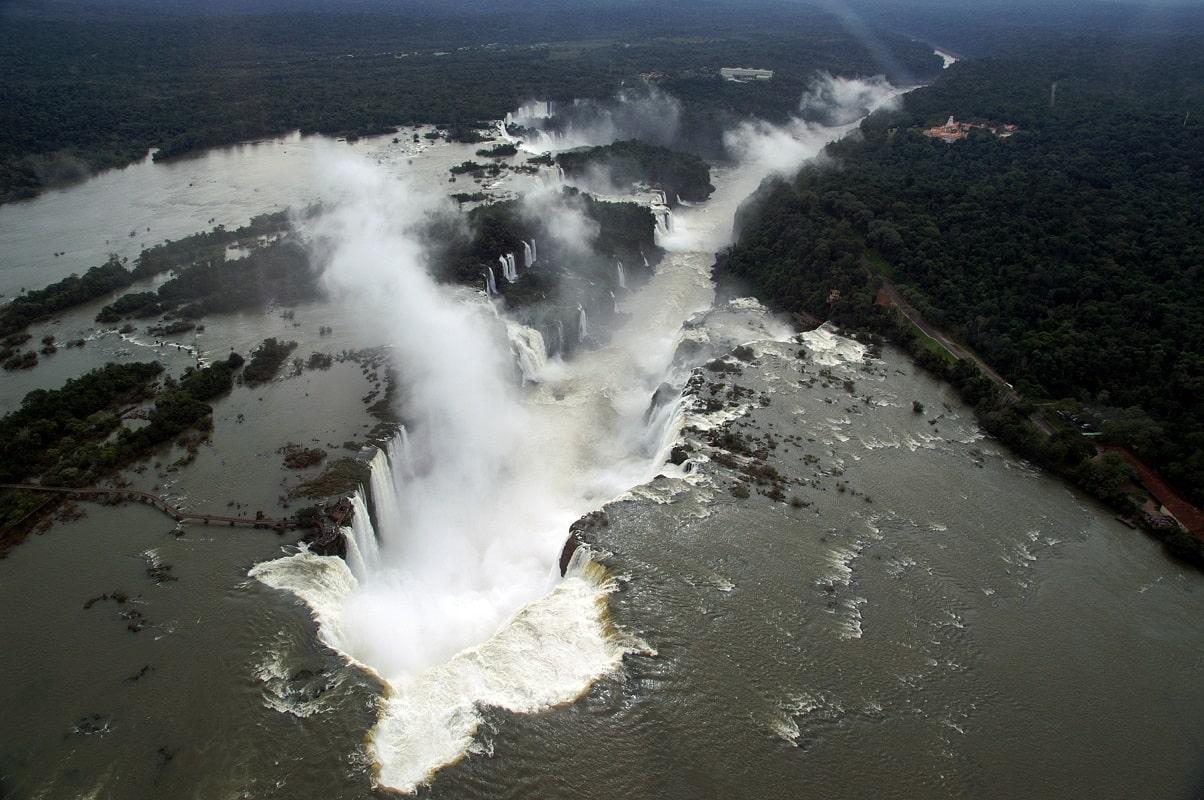 Cataratas do Iguaçu, Brasilien