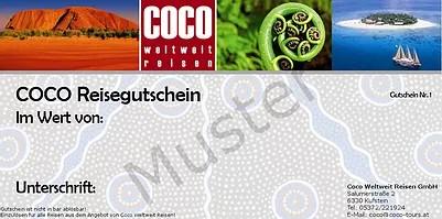 COCO Reisegutschein