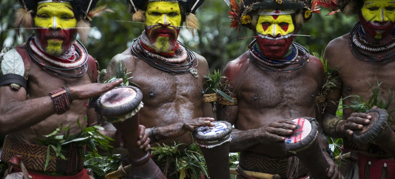 Huli Wigmen, Tari © Amanda Cotton