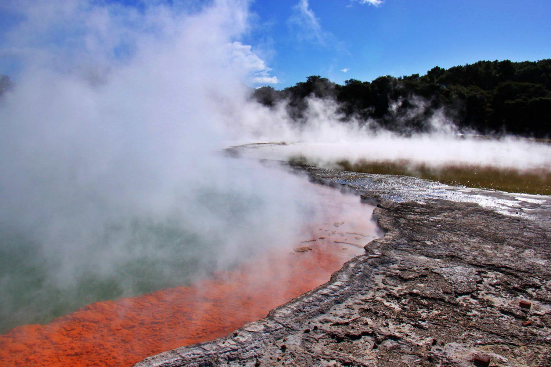 Wai-O-Tapu Thermal Wonderland, Rotorua, Neuseeland