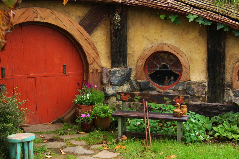 Hobbiton Movie Set, Matamata, Neuseeland