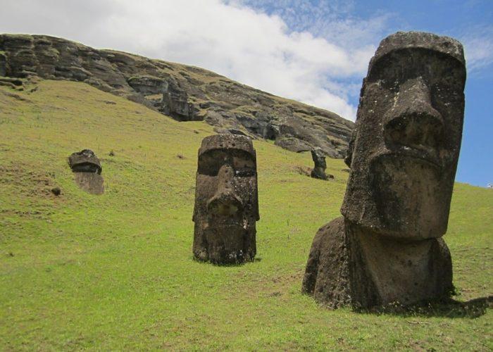 Moai, Osterinsel, Chile