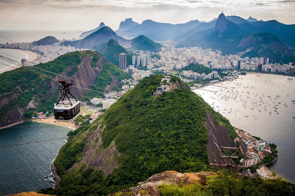 Seilbahn, Zuckerhut, Rio de Janeiro, Brasilien