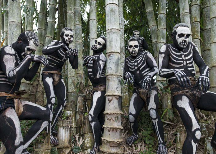 Chimbu Skeleton People, Mt. Hagen © Amanda Cotton
