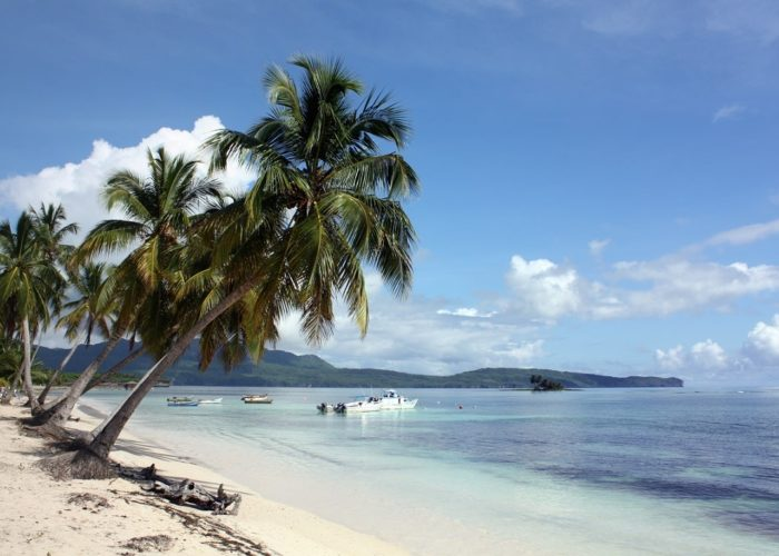 Strand, Las Galeras, Dominikanische Republik