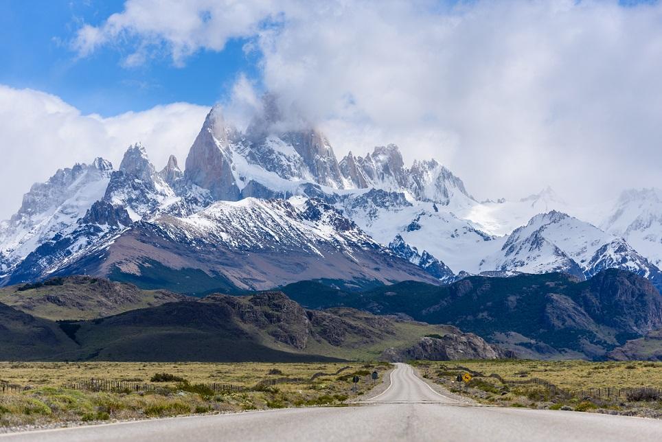 Straße, Patagonien, Argentinien
