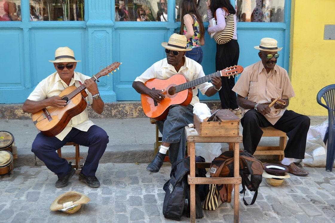 Straßenmusiker, Kuba