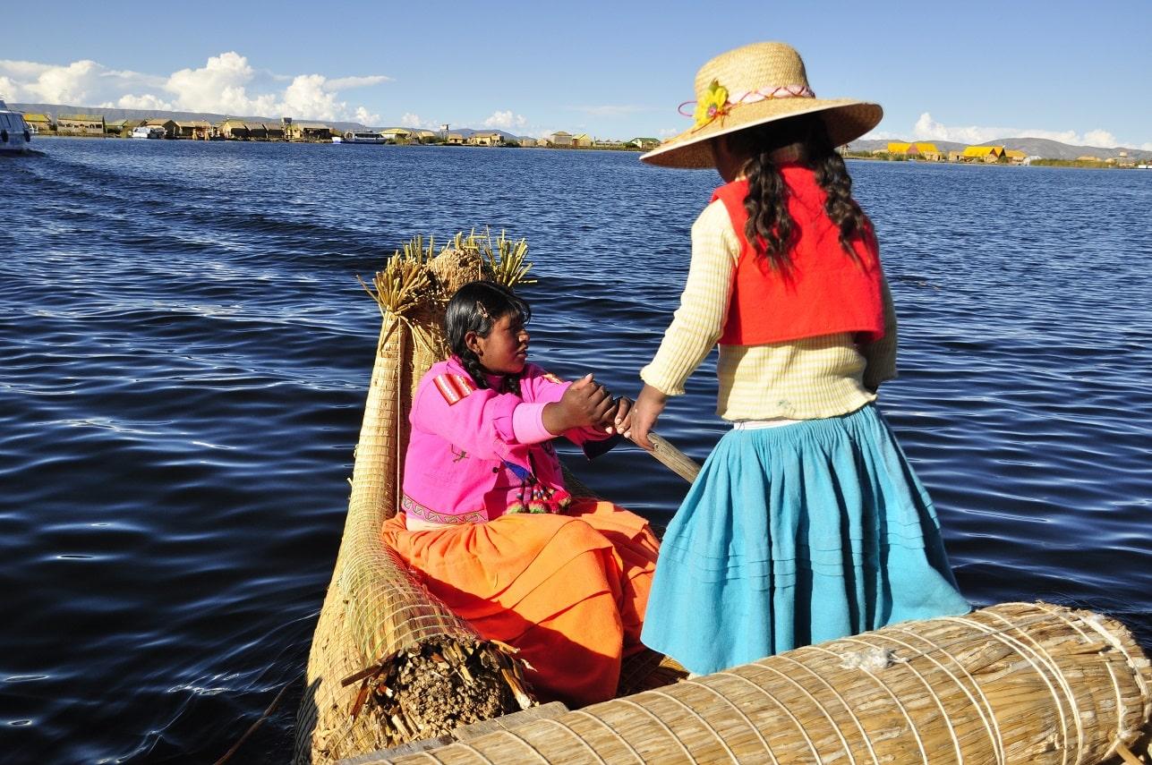 Titicacasee, Bolivien