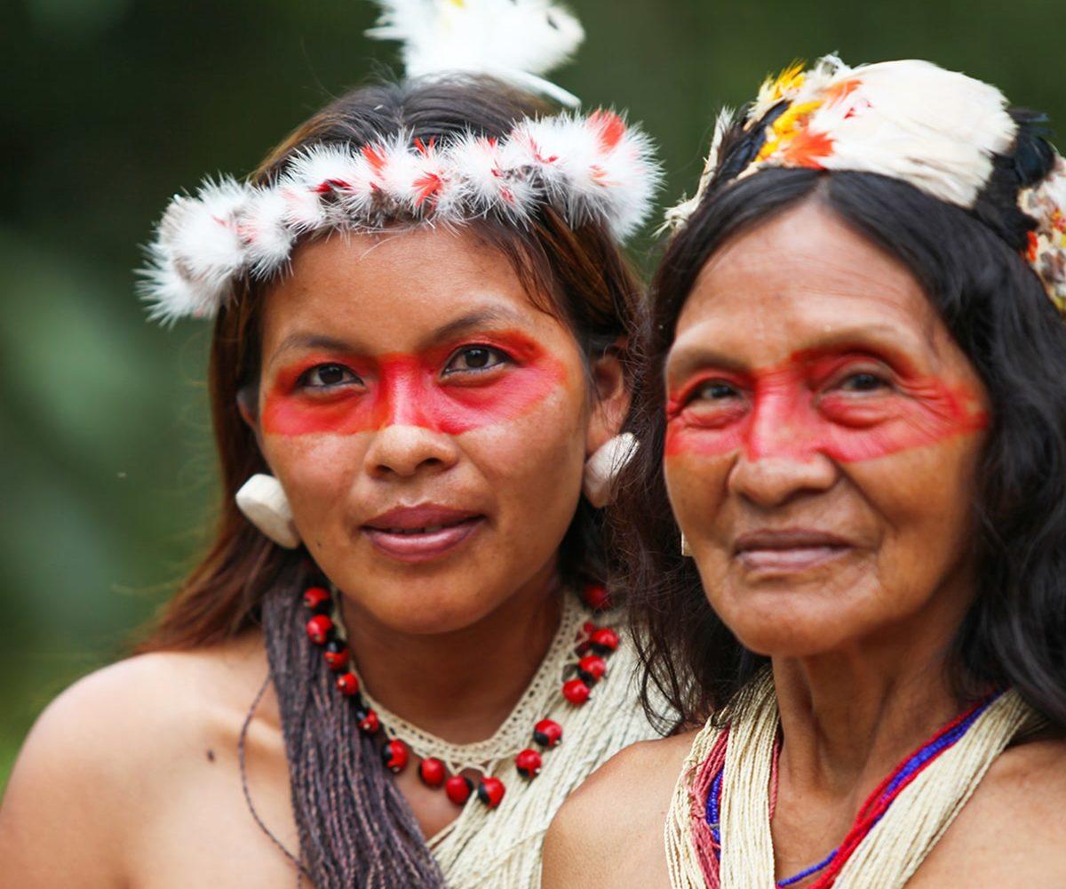 Ureinwohner, Amazonas, Ecuador