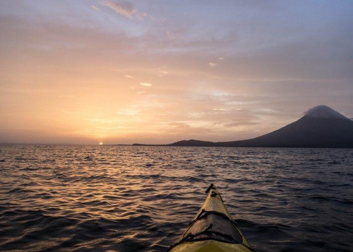 Kayaking, Isla de Ometepe, Lago Cocibolca, Nicaragua
