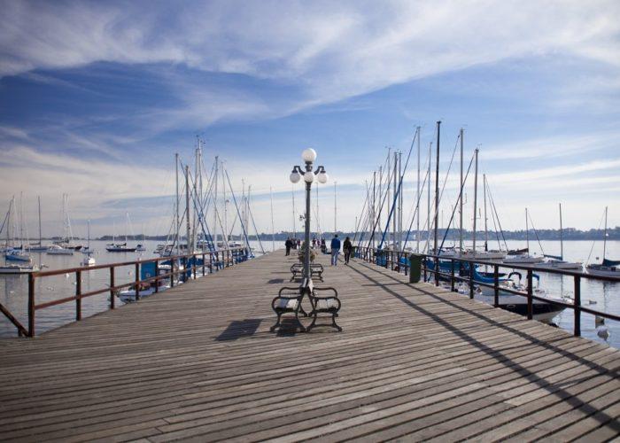 Pier, Colonia del Sacramento, Uruguay