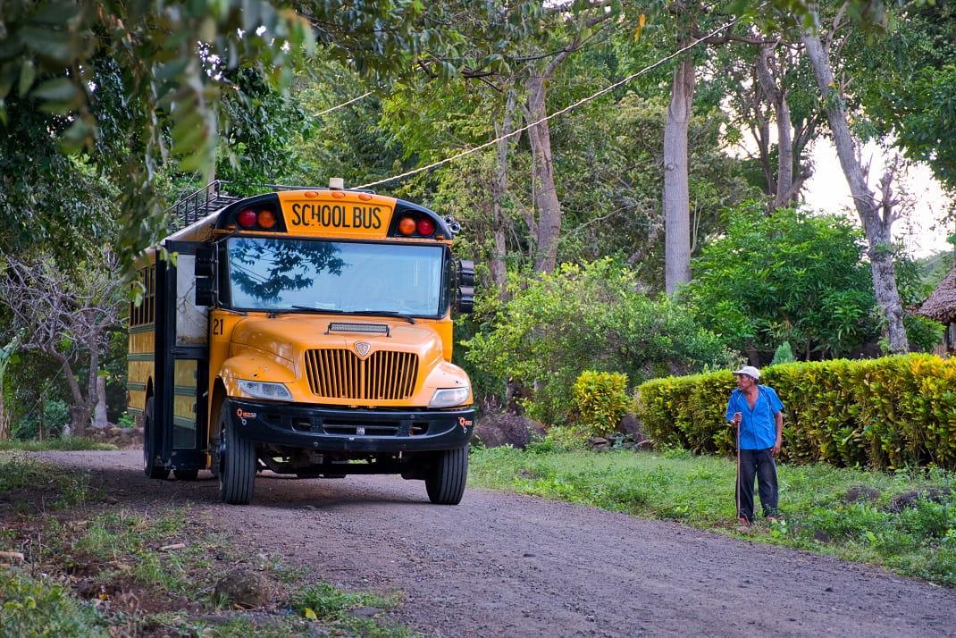 Schulbus, Nicaragua
