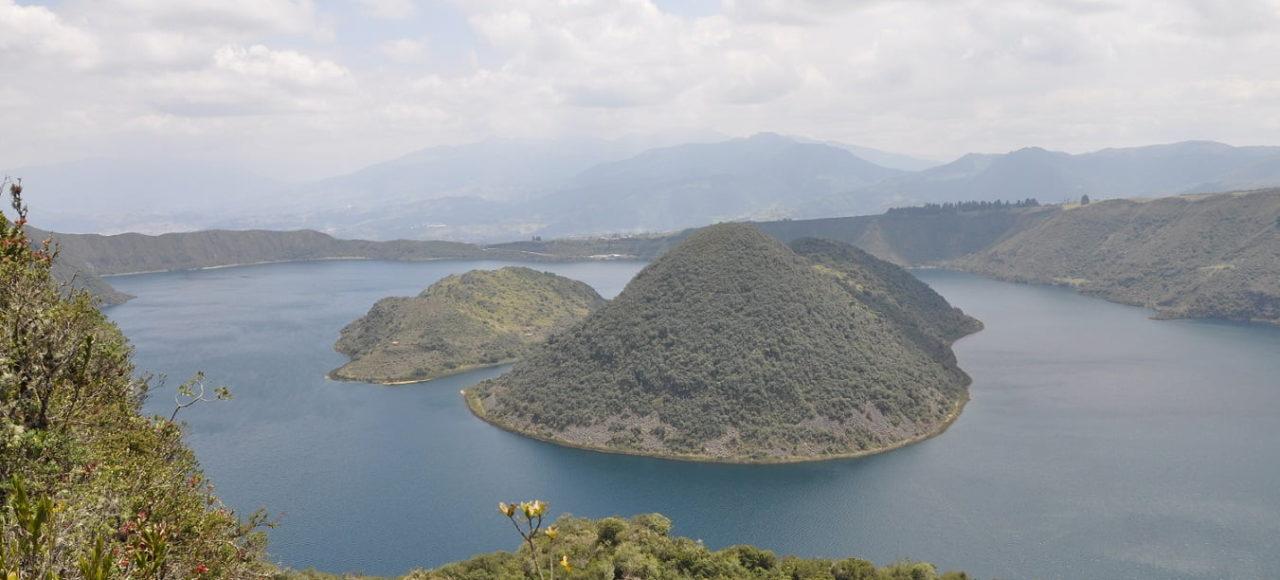 Cuicocha Lagoon, Ecuador