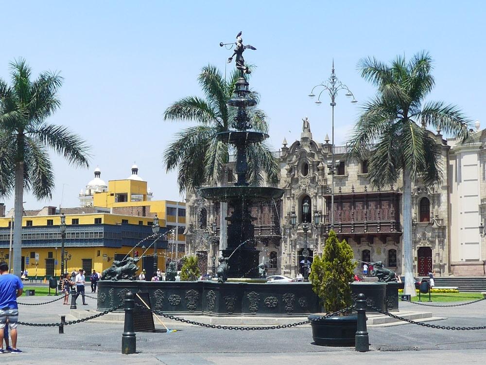 Hauptplatz Lima, Peru