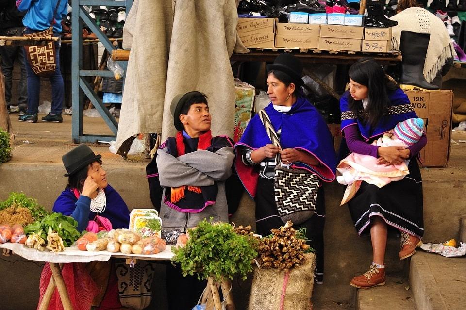 Indianermarkt, Silvia, Kolumbien