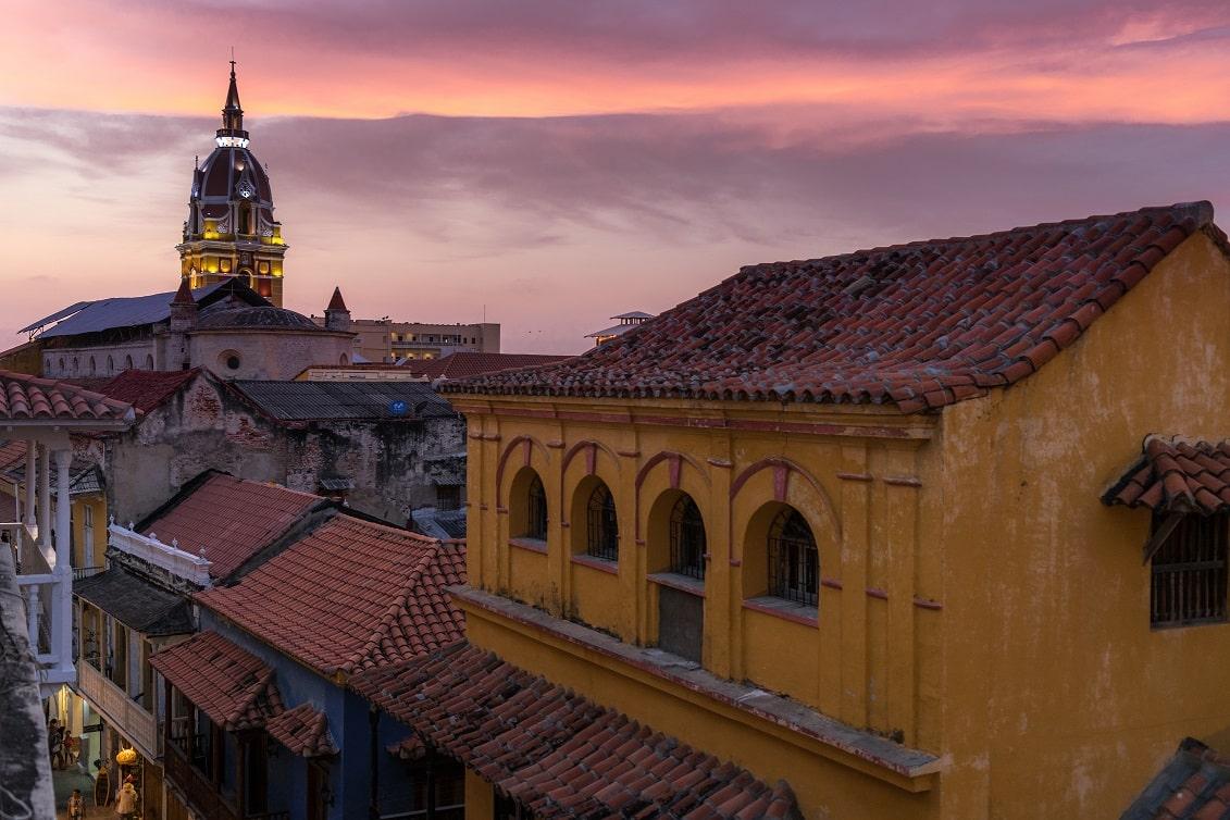 Kirche, Cartagena, Kolumbien