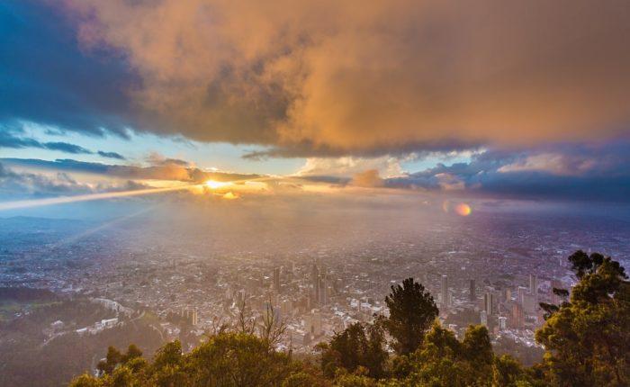 Monserrate, Bogotá, Kolumbien