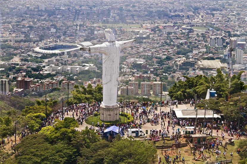 Monumento Cristo Rey, Cali, Kolumbien
