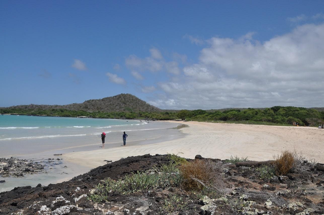 Santa Cruz, Galapagos, Garrapatero Beach