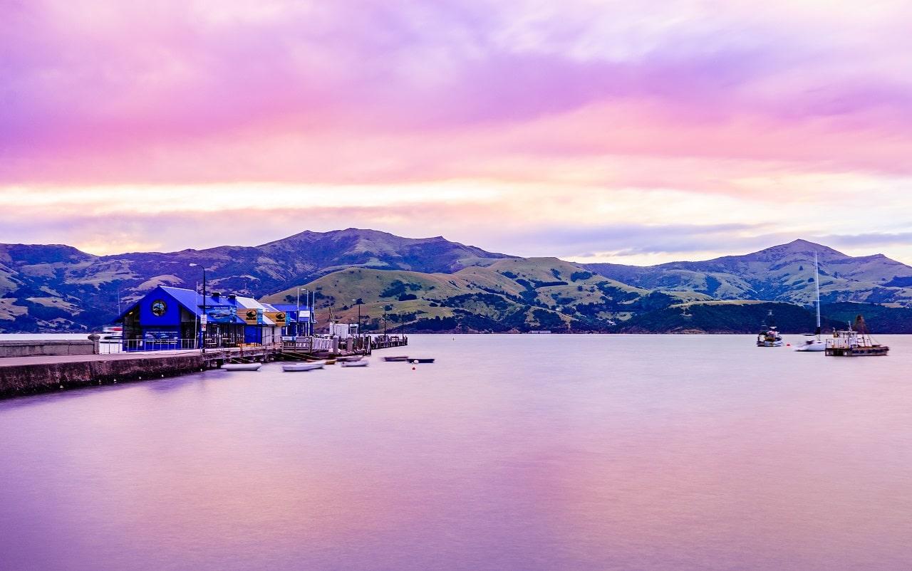 Akaroa Harbour © christchurchnz