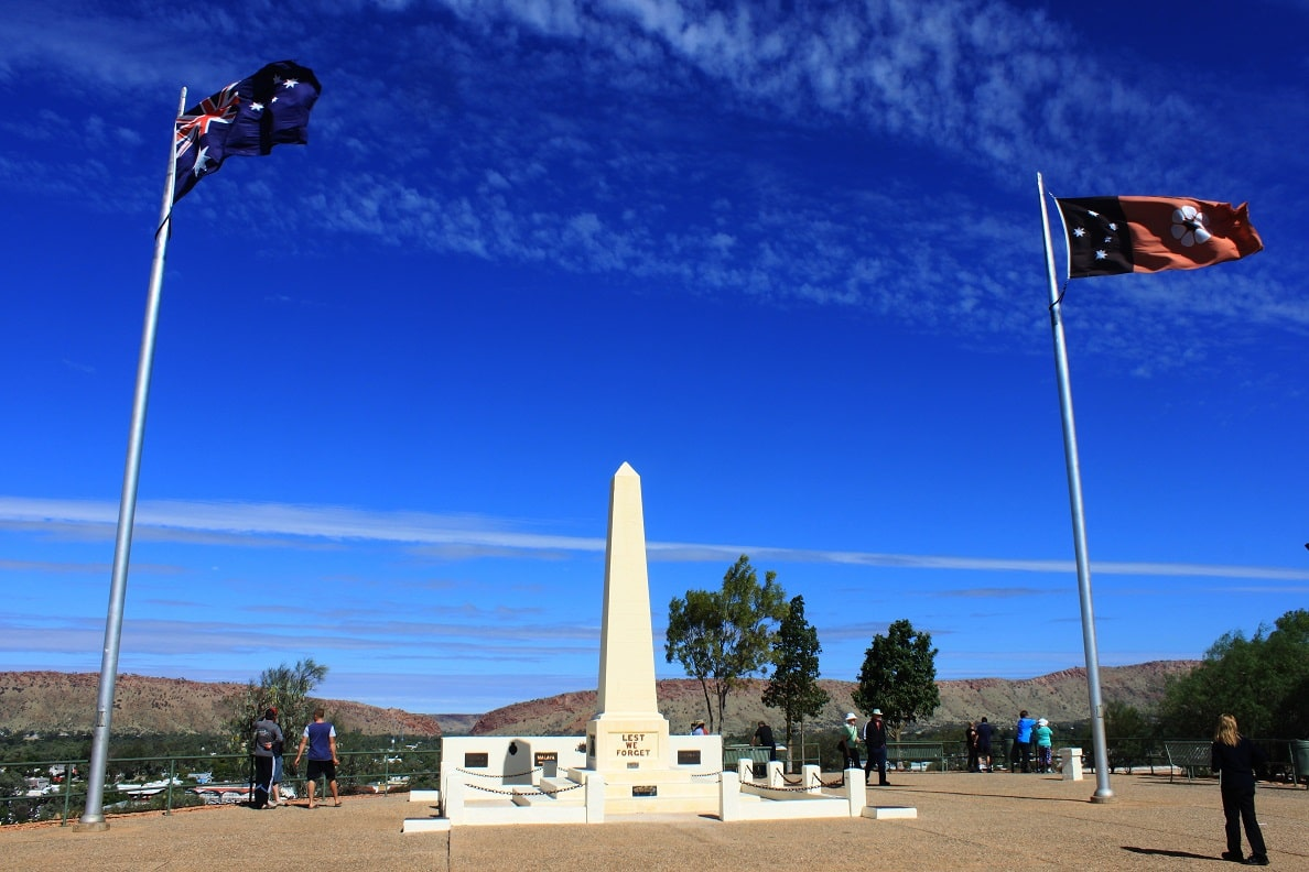 Anzac Hill, Alice Springs, Australien