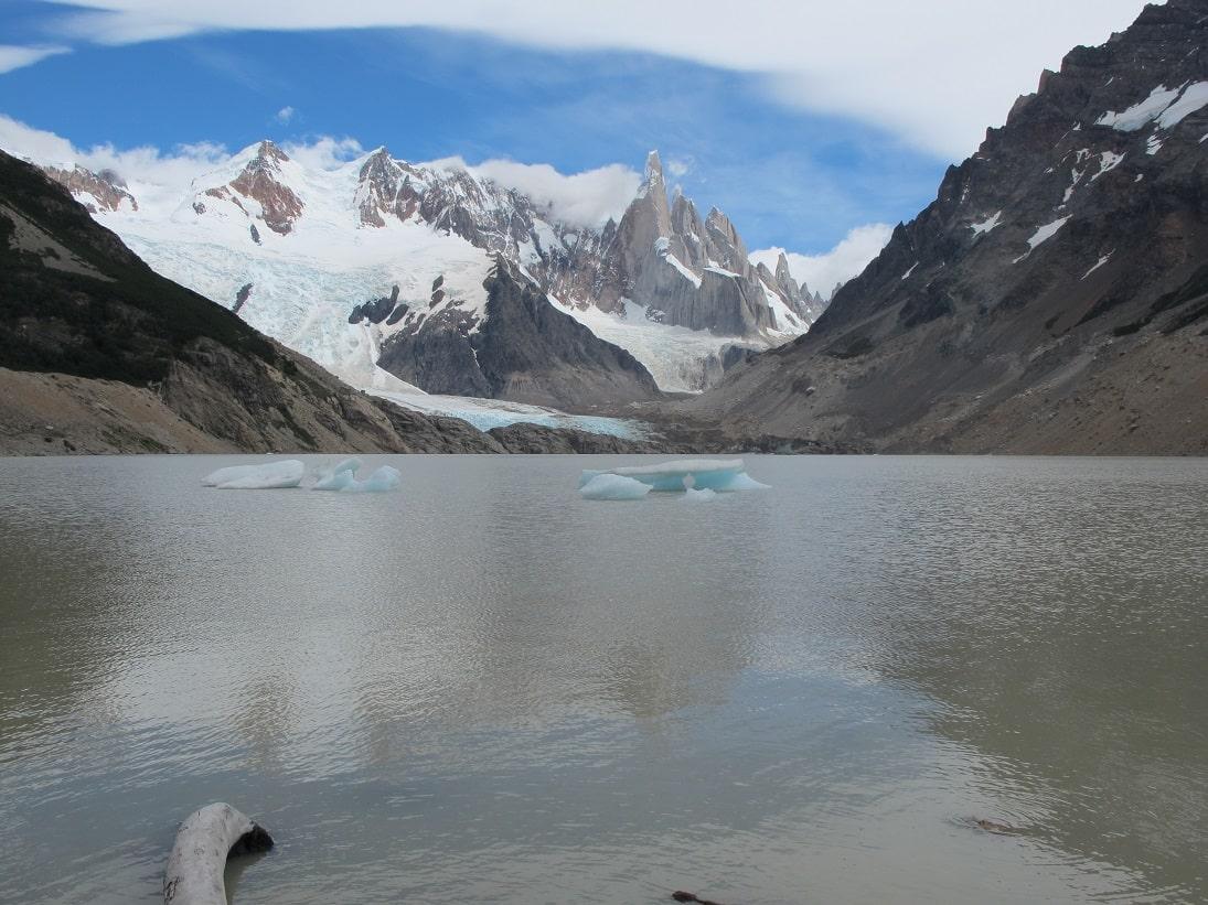 El Chalten, Laguna Torre, Argentinien