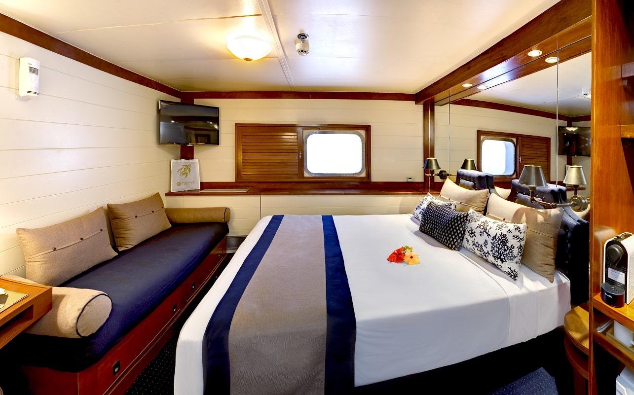 Fiji Princess, Blue Lagoon Cruises, Kabine