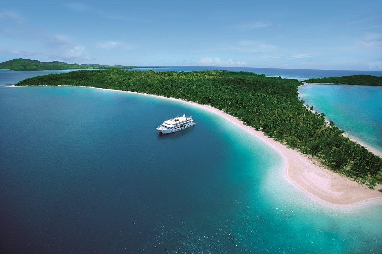 Fiji Princess, Blue Lagoon Cruises, Nanuya Island