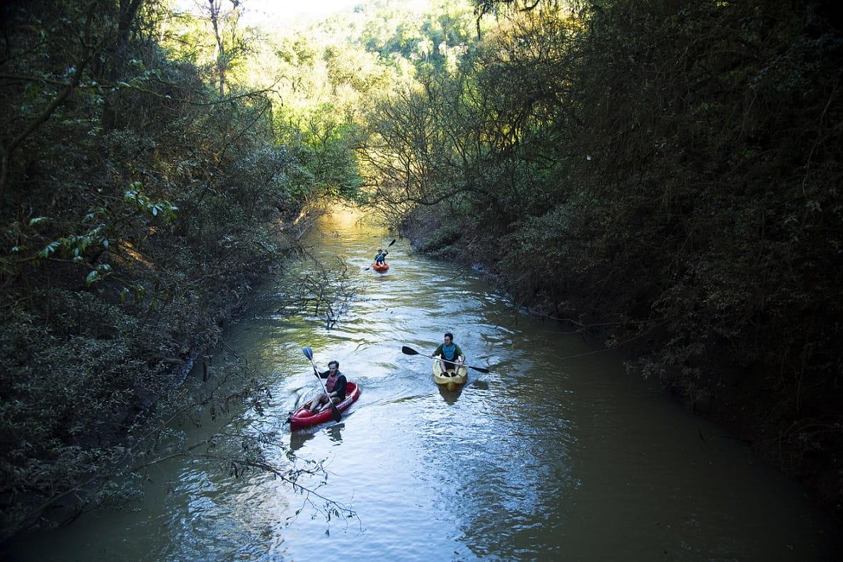Kayaking, Mocona Virgin Lodge