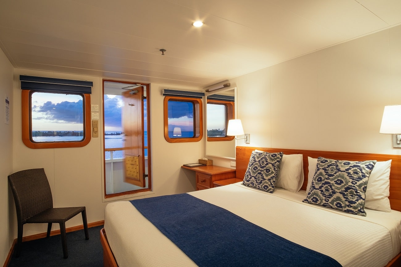 Reef Endeavour, Captain Cook Cruises, Stateroom