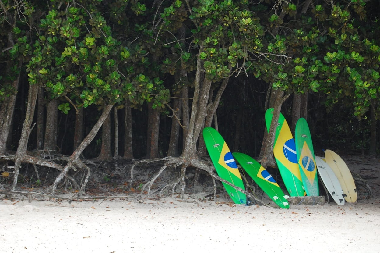 Strand, Ilha Grande, Brasilien