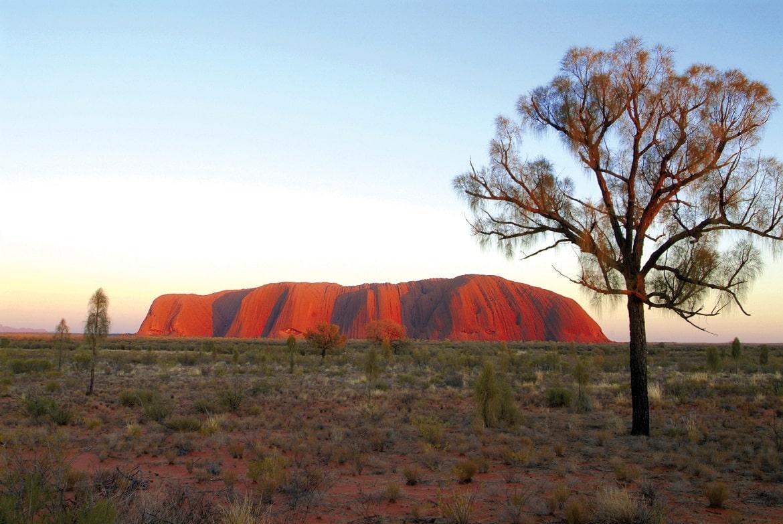 Uluru Sunrise Viewing © AAT Kings