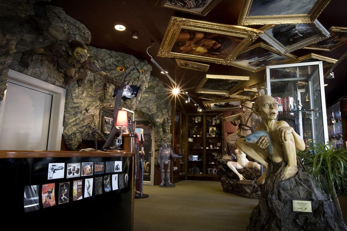 Weta Cave Museum, Wellington © Weta Workshops
