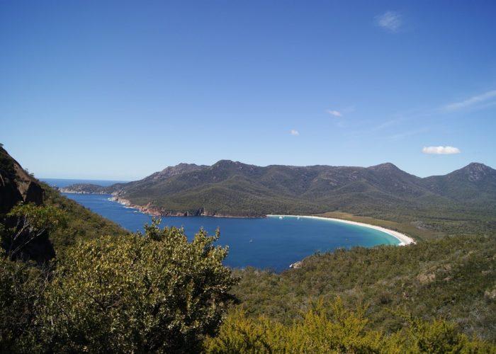 Wineglass Bay, Freycinet Nationalpark, Australien
