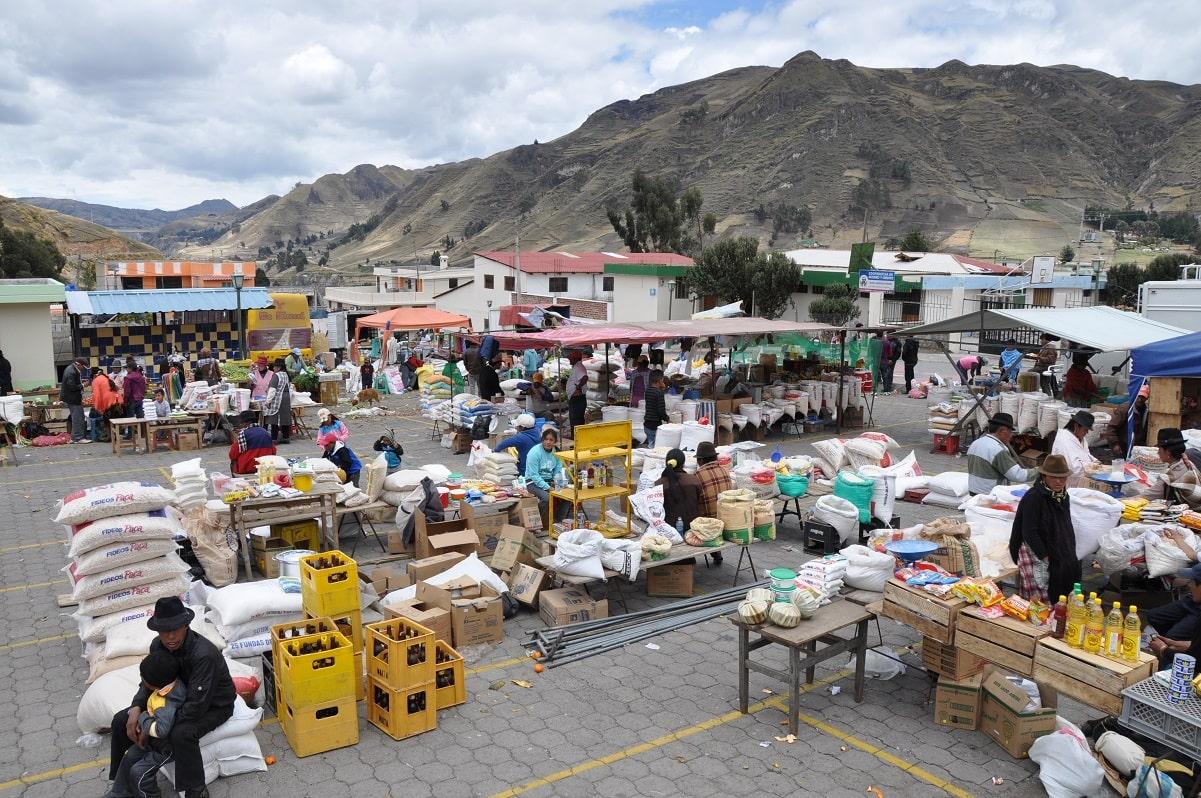 Zumbahua, Market