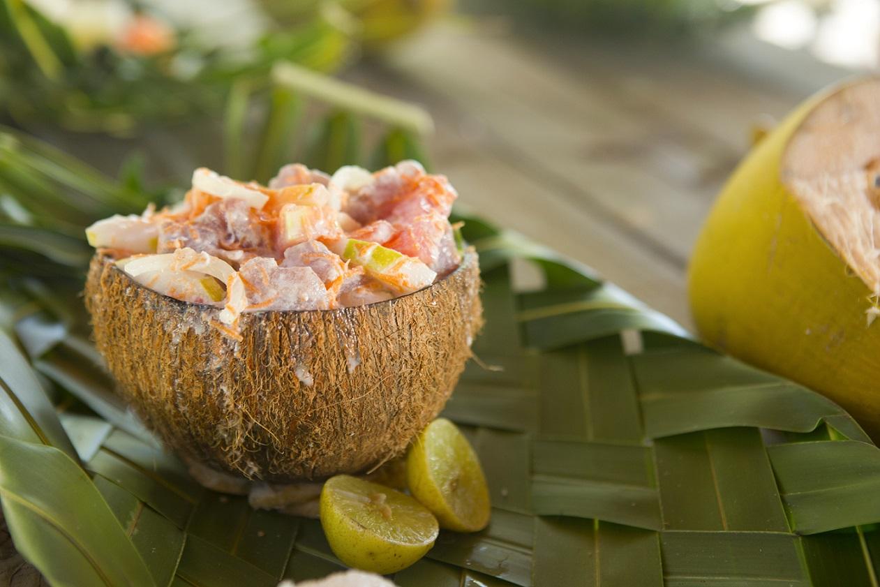 Tahitian Poisson Cru © Tahiti Tourisme