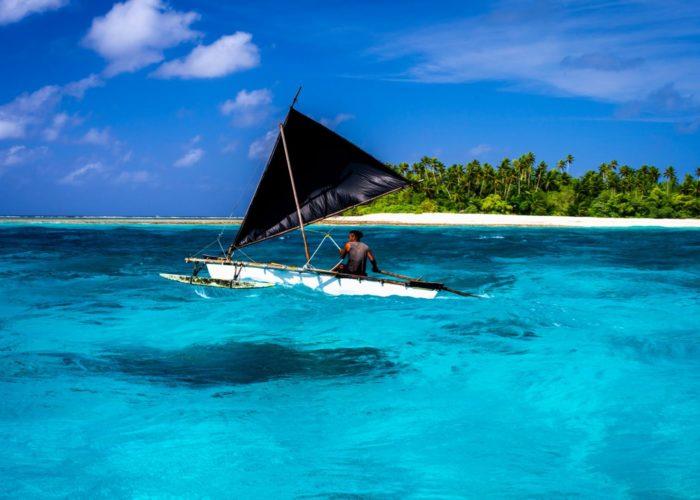 Te Waa' Segelkanu, Kiribati © David Kirkland_SPTO