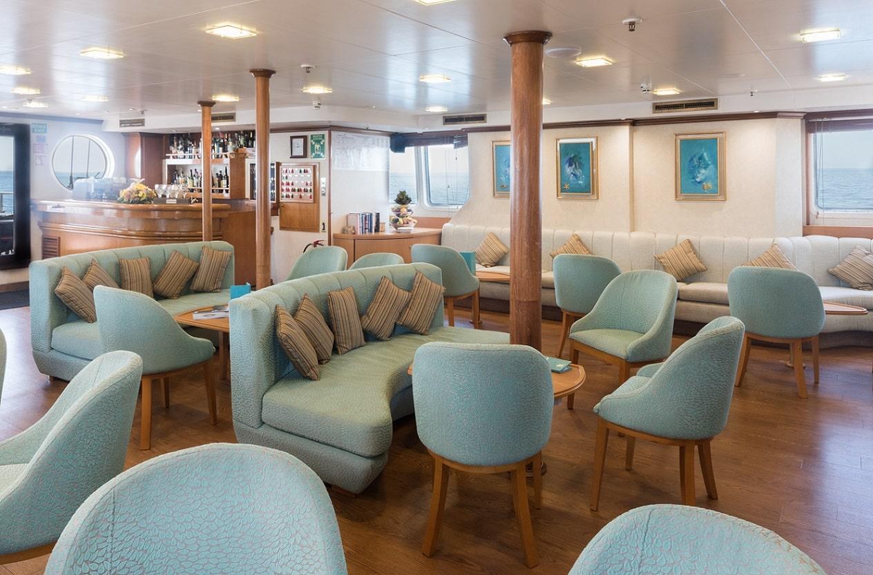 Variety Cruises, Panorama II, Indoor Essbereich