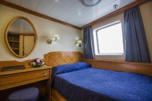 Variety Cruises, Panorama II, Kabine A